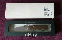 Victorinox 2012 Damascus Limited Edition Swiss Army Knife Rare SAK