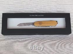 Victorinox 2014 Spartan Damast LE Swiss Army Knife