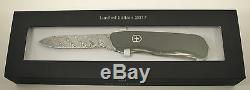 Victorinox 2017 Limited Edition Damascus Outrider Swiss Army Knife #1912