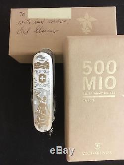 Victorinox 500 Mio Sonderedition Swiss Champ Swiss Army Knife