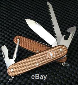 Victorinox 93mm Swiss Army FARMER Knife 0.8241.79RC Rare Copper ALOX