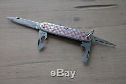 Victorinox Alox Elinox Old Cross, alte Ahle Swiss Army Knife Messingliner