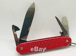 Victorinox Alox Pioneer Old White Cross Swiss Army Knife Red SAK