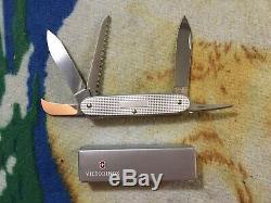 Victorinox Alox Rare Swissbianco Carver/ Farmer SW Swiss Army Knife