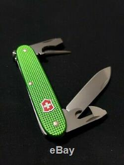 Victorinox Apocalypse Green Alox Pioneer Soldier Swiss Bianco