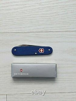 Victorinox Bantam 84mm Swiss Army Knife, Rare Blue with Red Shield, New in box