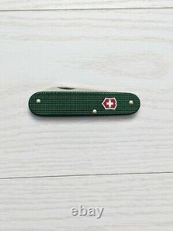 Victorinox Bantam 84mm Swiss Army Knife, Rare green with red shield, New in box