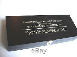 Victorinox Battle & Alliance Swiss Army Knife- Battle of Sempach 1386- NIB