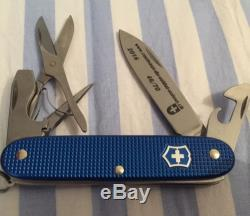Victorinox Blue Alox Pioneer X Swiss Army Knife 1 Of 70 Le. Nib