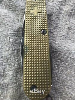 Victorinox Brass Swiss Army Knife