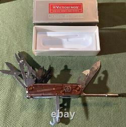 Victorinox CYBERTOOL 34 Original Swiss Army Knife ONYX 53926 NEW Authentic New