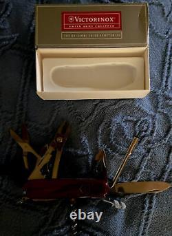 Victorinox CYBERTOOL 34 Original Swiss Army Knife RUBY 53919 NEW Authentic New
