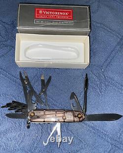 Victorinox CYBERTOOL 34 Original Swiss Army Knife Smoke Grey 53919 NEW Authentic