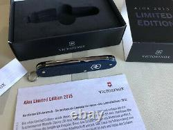 Victorinox Cadet Alox Stainless Steel 2015 Limited Edition 84mm Swiss Army Knife
