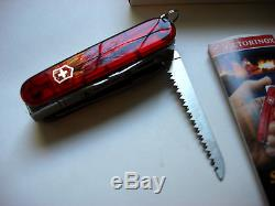 Victorinox CampFlame Swiss Army Knife Brand New Old Stock RARE