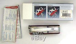 Victorinox CampFlame Swiss Army knife, New Boxed, rare retired #6202
