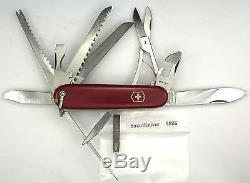 Victorinox Champion Long File Swiss Army knife- Hoffritz w bale 1960s #5826