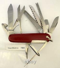 Victorinox Champion Swiss Army knife- vintage w bail/shackle and long file #7392