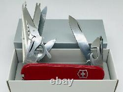 Victorinox ChampionC flagship 1985 Rot 7 layer magnifying glass Swiss Army knife