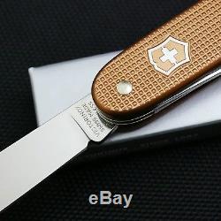 Victorinox Copper Alox Farmer Swiss Army Knife NEW Rare and Beautiful, LQQK