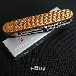 Victorinox Copper Alox Farmer Swiss Army Knife RARE Very Hard to find