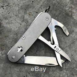 Victorinox Custom 84mm Titanium SAKMOD Custom Swiss Army Knife
