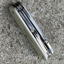 Victorinox Custom Alox 93mm MOD SAK Swiss Army Knife EDC Bladeless pattern