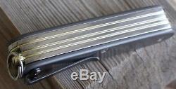 Victorinox Custom Titanium Swiss Army Modded knife 93mm with wood saw