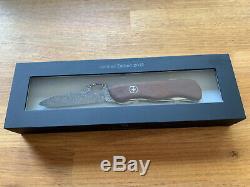 Victorinox Damast 2012, Damascus Trailmaster, limited edition Swiss Army Knife