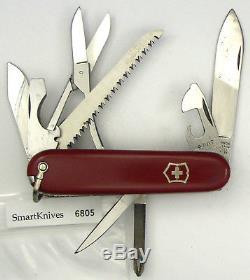 Victorinox Fieldmaster Swiss Army knife- used, vintage w bale VG 1970s #6805