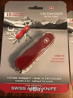 Victorinox HUGE LOT 112 ITEMS New In Manufacturers Swiss Army Knife Packaging