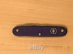 Victorinox Limited Edition Nespresso Swiss Army Knife Purple New No Box