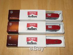 Victorinox Marlboro Swiss Army Knife Set/ Troubleshooter Trail Guide Outdoorsman