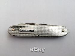 Victorinox Michelin Steel Knife Swiss Army Alox Electrician