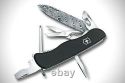 Victorinox OUTRIDER 2017 DAMASCUS /DAMAST Swiss Army Knife NEW IN BOX RARE