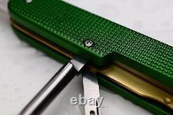Victorinox Old Cross Green Alox Apocalypse Tinker Swiss Army Knife Pioneer