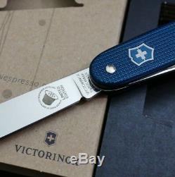 Victorinox PIONEER Dharkan Alox Swiss Army Knife 2018 Limited Edition Nespresso