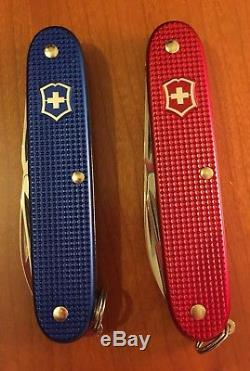 Victorinox Pioneer Alox Usa Stars And Stripes Swiss Army Knife. NIB