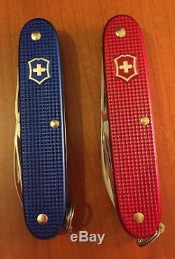 Victorinox Pioneer Alox Usa Stars And Stripes Swiss Army Knife. NIB