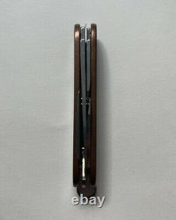 Victorinox Pioneer Custom Copper Brasswerx Swiss Army Knife EDC Rare Limited