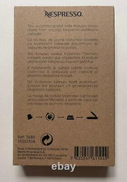 Victorinox Pioneer Swiss Army Knife Limited Edition Alox Nespresso Dharkan 2018