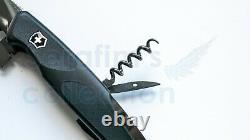 Victorinox Ranger Grip 55 Onyx Black Swiss Army Folding Pocket Knife