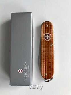 Victorinox Rare 84mm Orange Alox Lumberjack Swiss Army Knife