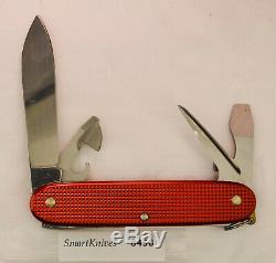 Victorinox Red Pioneer Swiss Army knife- vintage, used, very good #8458