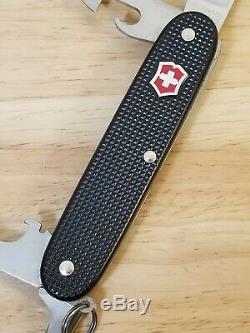 Victorinox Red Shield Black Alox Pioneer 93mm Swiss Army Knife