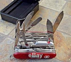 Victorinox SWISSCHAMP XAVT Ruby Original Swiss Army Knife 53509 NEW! Authentic