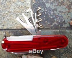 Victorinox SWISSCHAMP XLT Ruby Original Swiss Army Knife 53504 NEW! Authentic