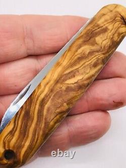 Victorinox Safari Solo OLIVE WOOD 108mm Swiss Army Knife Vintage Discontinued