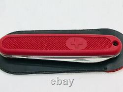 Victorinox Safari Solo Red 108mm Swiss Army Knife Vintage Discontinued NEW
