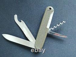 Victorinox Safari Trooper 108 mm Rare Swiss Army Knife Vintage Olive